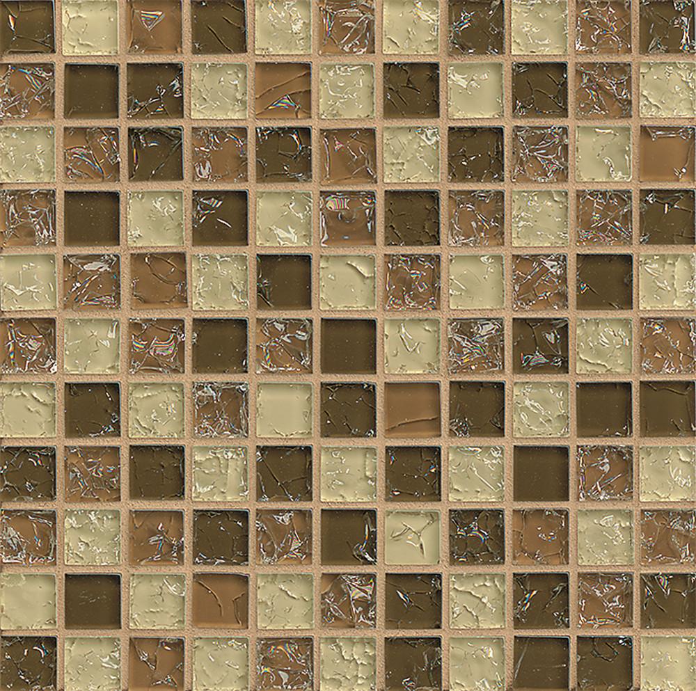 crackle mosaik auf leinwand